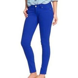 Old Navy Color Pop Blue Rockstar Skinny Jeans